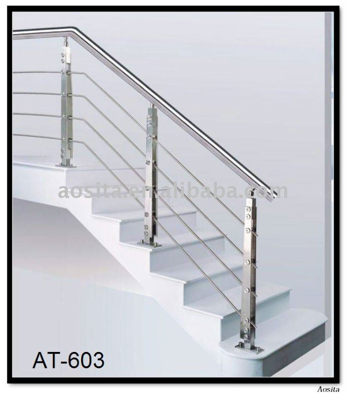 Stainless Steel Railing For Stair With Factory Price On