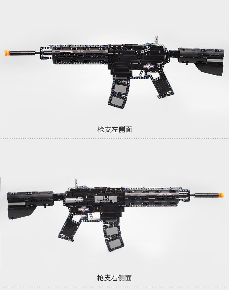 Spielzeug Pistole LepinS Waffe Pistolen Winchester Modell gun M4 A1 Scattergun Swat Schusswaffen Modell Kits ziegel spielzeug Kinder Geschenk-in Sperren aus Spielzeug und Hobbys bei  Gruppe 3