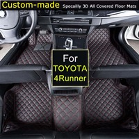 For Toyota 4Runner Car Floor Mats Car Styling Foot Rugs Customized Auto Carpets Custom Made Specially