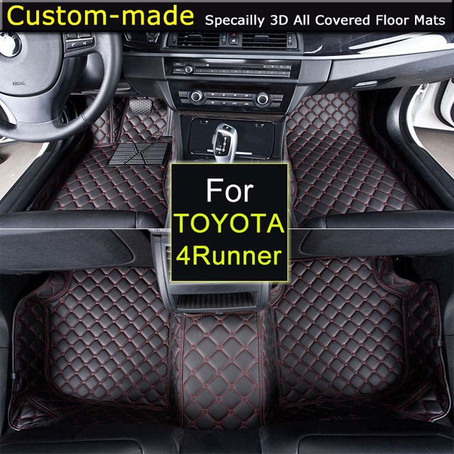 For Toyota 4runner Car Floor Mats Car Styling Foot Rugs Customized