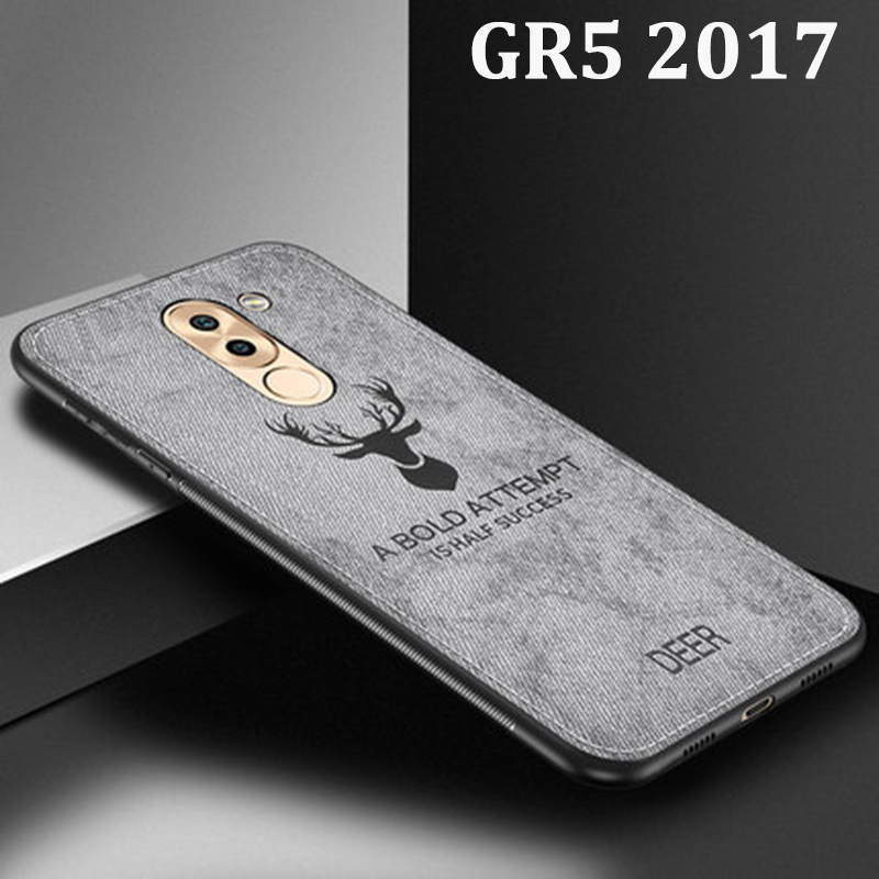 For Huawei GR5 <font><b>2017</b></font> Case Soft phone case For Huawei <font><b>GR</b></font> <font><b>5</b></font> <font><b>2017</b></font> Protection Cover G R <font><b>5</b></font> <font><b>2017</b></font> Cloth + TPU cases Shell back coque image