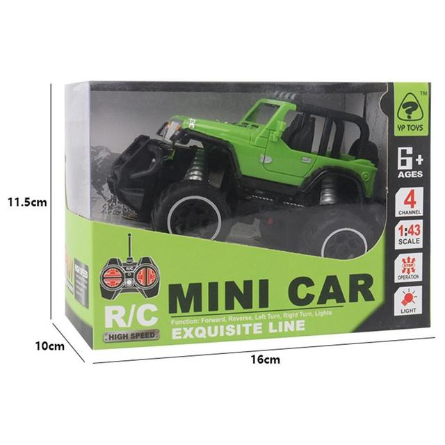 LeadingStar 1:43 Mini RC Cars Off-road 4 Channels Electric Vehicle Model Toys as Gifts for Kids remote control toys 4