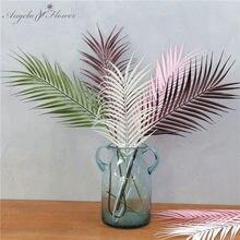 Simulation de feuilles nordiques de feuilles de tournesol à queue éparpillée, queues amples, accessoires d'arrangement de fleurs de mariage à la maison, feuille de fer