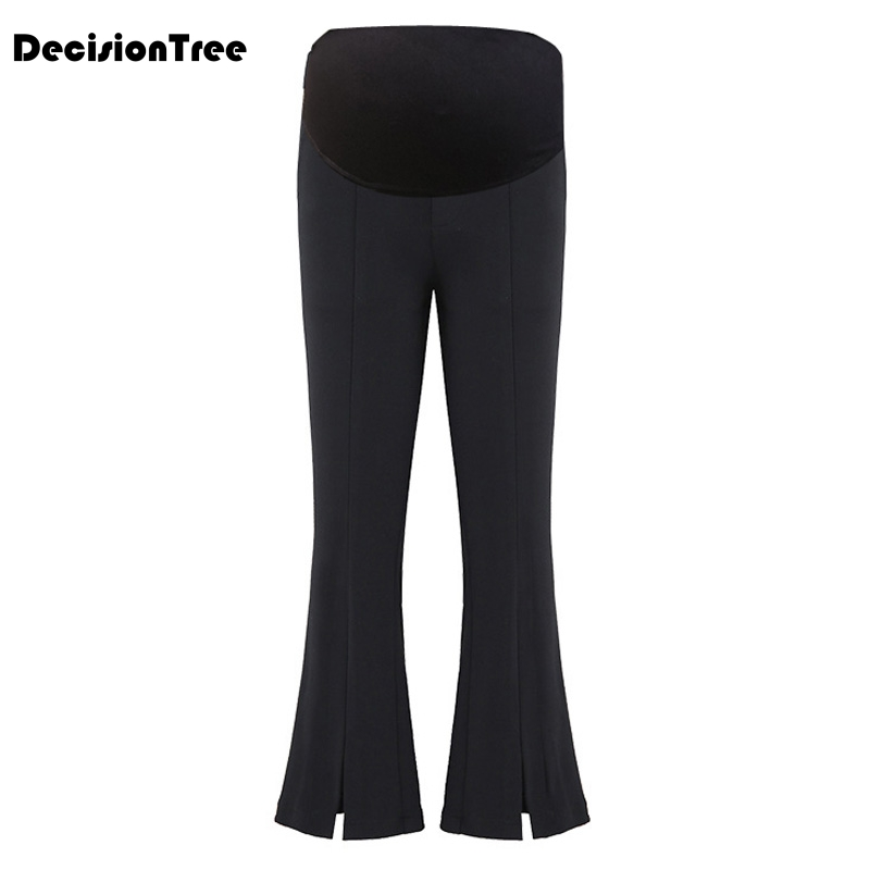 2019 new maternity clothing pregnancy stretchy waist abdominal leggings pregnant women pants maternity cotton clothes