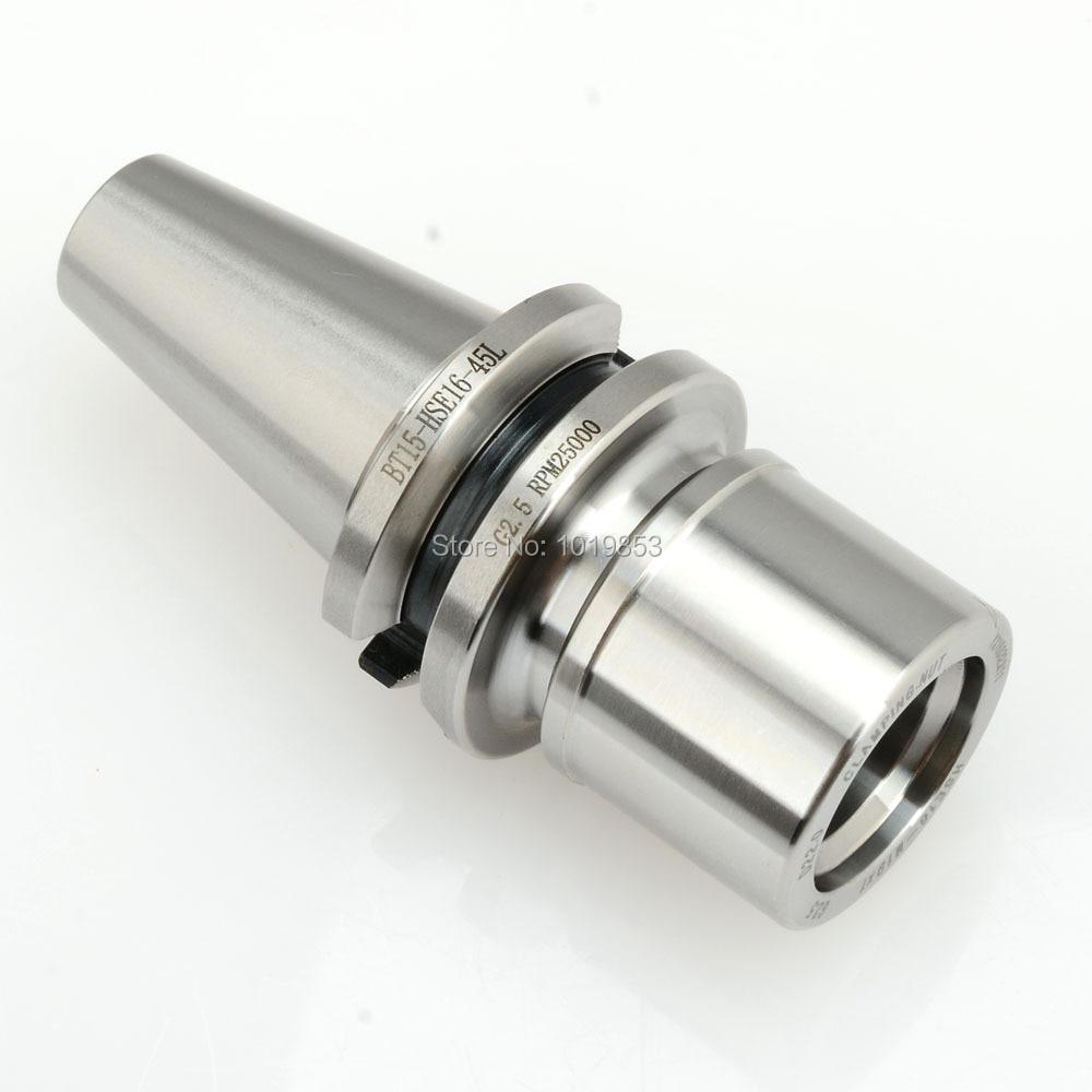 BT15 -HSE16-45L Milling chuck tool holder balanced G2.5 25000rpm for CNC milling machine center стоимость