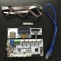 1kit v2.1.1 v2.1.4 motherboard + controle LCD Ultimaker impressora 3D conjunto do painel/impressora 3D Ultimaker 2 controle LCD motherboard kit