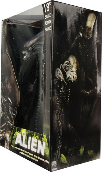 18 BIG TOYS Fiama high quality NECA ALIEN grimace Aliens Predator xenomorph PVC joker action figure Collectible Model 45cm neca planet of the apes gorilla soldier pvc action figure collectible toy 8 20cm