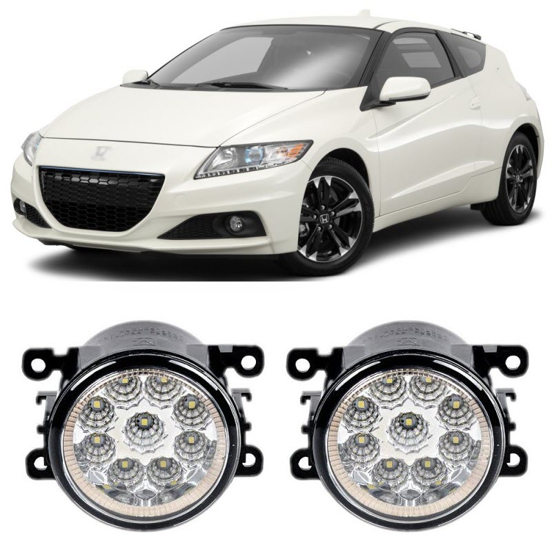 Car Styling DRL For Honda CR Z CRZ 2013 2014 2015 9 Pieces