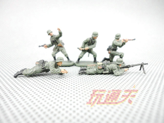 super mini 1:72  World War II German soldiers  finished bulk  model  5pcs/set super junior world tour in seoul super show 6 special photobook release date 2016 01 08 kpop