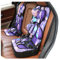 Child Car Safety Seat Baby Foldable Portable Car Seat Five point Safety Harness Infant and Toddler Car Seat Liner Booster Seat