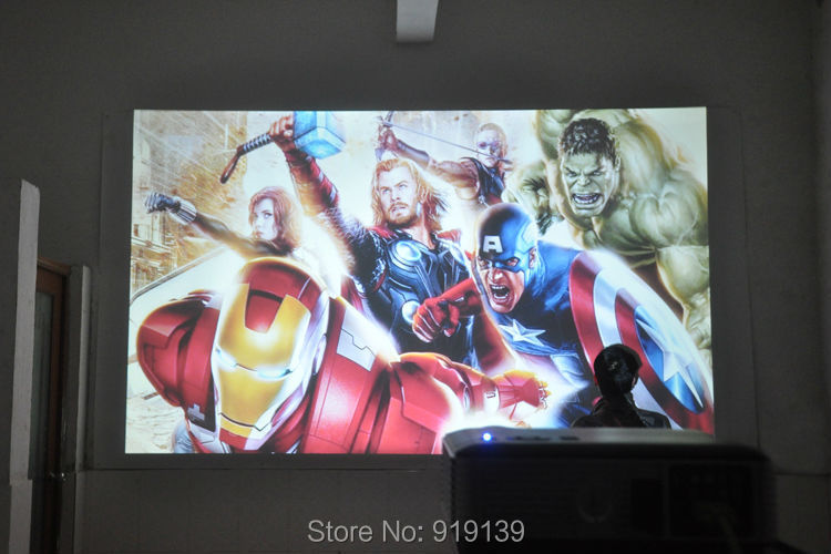 New HD Projector testing pic 3
