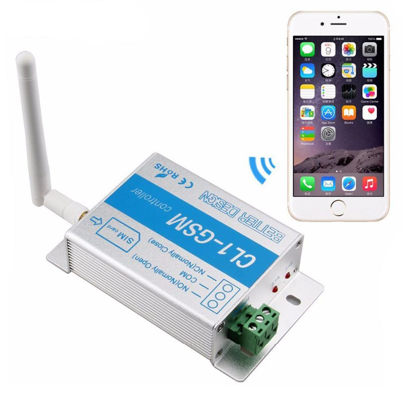 Gsm Relay Smart Switch Phone Call Sms Sim Controller Cl1-Gsm