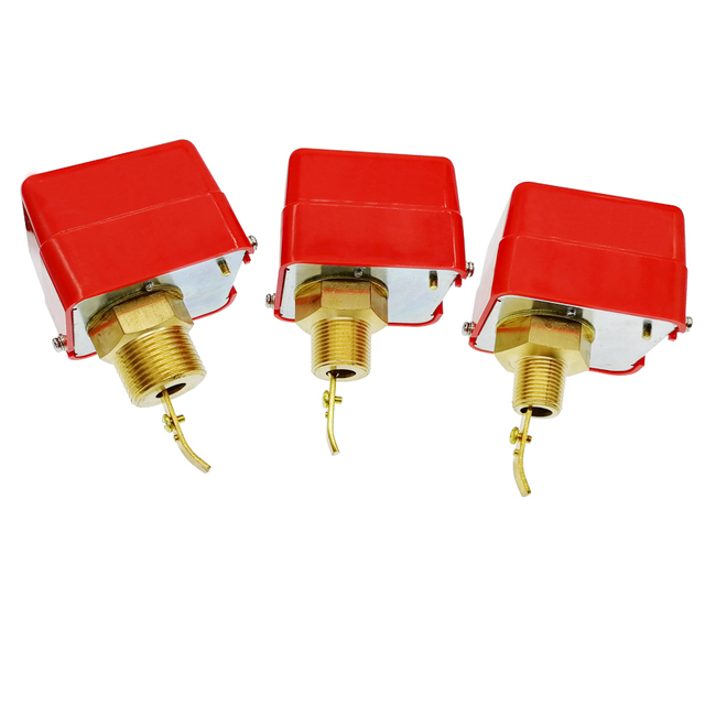"""Paddle Water Pump Flow Switch Water flow switch HFS 25 HFS 20 HFS 15 1"""" 1/2"""" 1/4"""""""