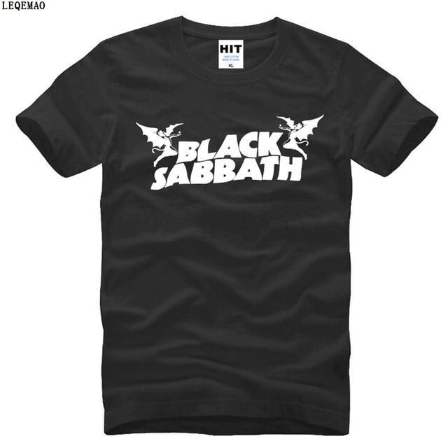 Brand Black Sabbath Classic Heavy Metal Rock Men s T-Shirt T Shirt For Men  2017 New O Neck Cotton Top Tee Camisetas Hombre a55a2756a10f8