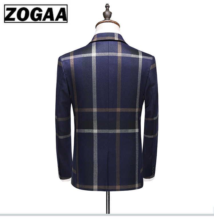 男性の都市ファッションハイエンドカスタム英国格子縞の結婚式の宴会スリムブレザー 3 点セット (スーツ + ベスト + パンツ) s-5XL 男性スーツ