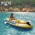 Jilong надувной лодке пляж вода надувные байдарки резиновая лодка для 4 человек 305X136X42 CM