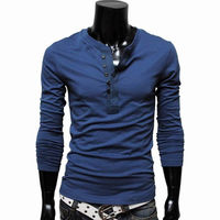 Top Designer T Shirt Men Fashion Brand Long Sleeve Tshirt Spring Tops Cotton Slim Fit T