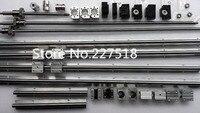 6 компл. линейный рельс SBR16 L300/1500/1500 мм + SFU1605 1550/1550/1550/350 мм шариковый винт + 4 BK12/BF12 + 4 DSG16H гайка + 4 тиски для CNC