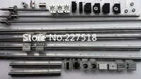 6 sets linear rail SBR16 L300/1500/1500mm+SFU1605 1550/1550/1500/350mm ball screw+4 BK12/BF12+4 DSG16H nut+4 Coupler for cnc