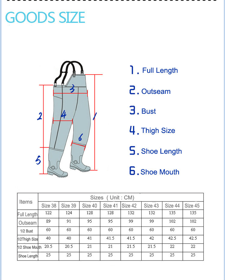 Fishing Chest Waders 16