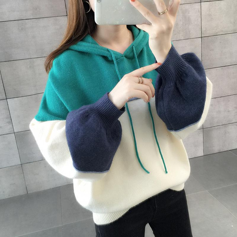 Women Knitted Hoodies