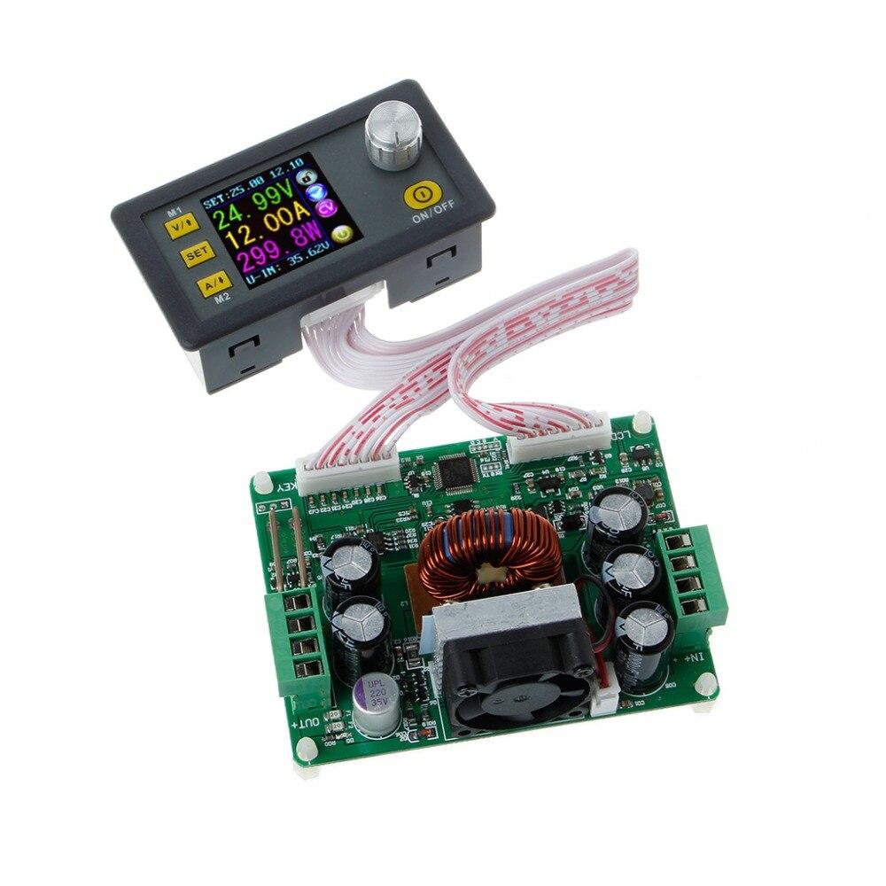 DPS3012 Adjustable Constant Voltage Step down LCD Power Supply Module Voltmeter Voltage Regulators Stabilizers