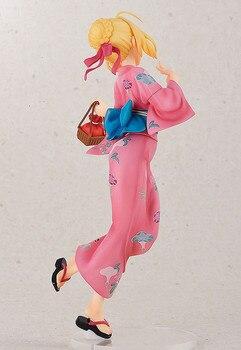 Аниме фигурка Сайбер в кимоно 22 см 1