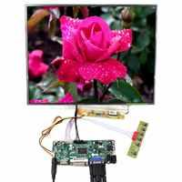 HD MI DVI VGA placa controladora LCD 15 pulgadas 1024x768 LP150X09 LTN150XB QD15XL06 LCD
