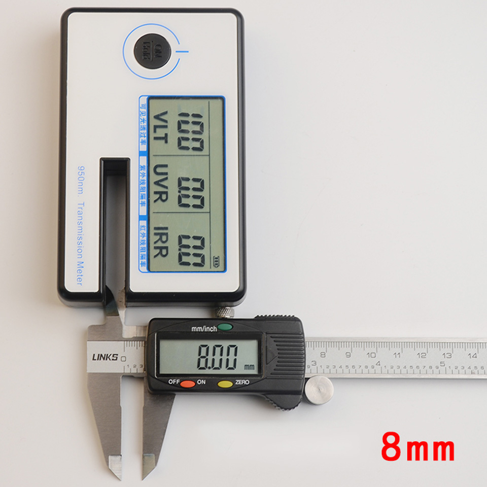 Image 4 - Portable Solar Film Transmission Meter Tester Window Tint Light Transmittance Meter JN 951