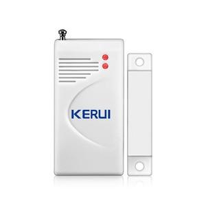 Image 2 - Kerui 3 pçs/lote 433mhz sem fio sensor de abertura alarme em casa janela segurança/sensor porta gap detector para gsm pstn sistemas alarme