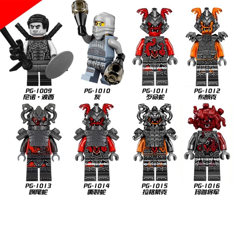 Ninjago Model Building Block Kit 1009 1010 1011 1012 1013 1014 1015 1016 Figure  Brick Toy For Children
