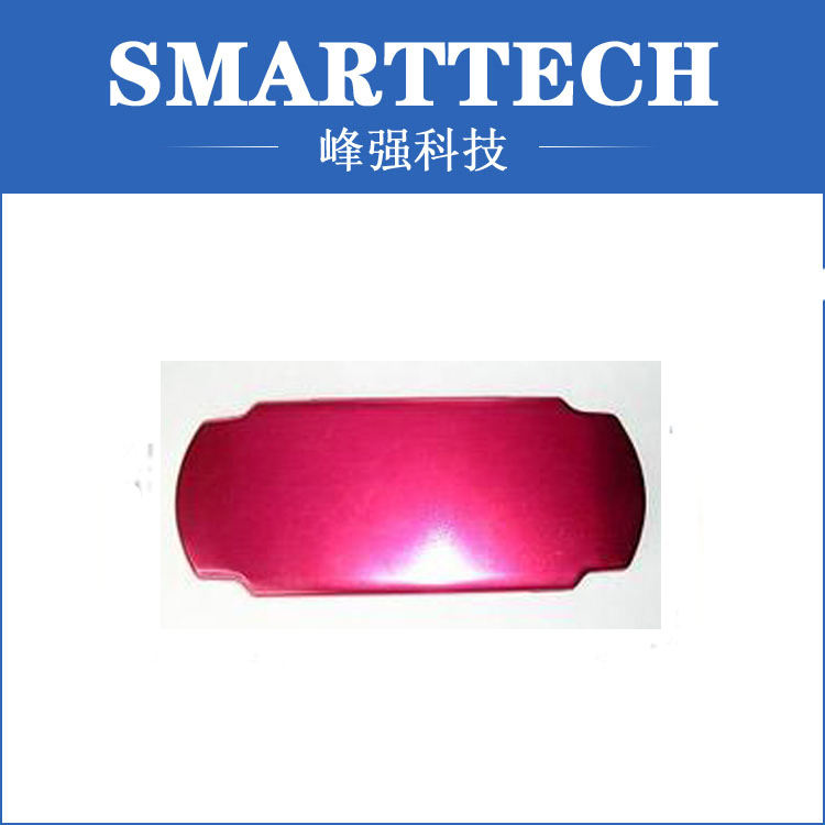 Red color metal car accessory, auto parts , cnc service