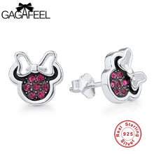GAGAFEEL Earrings For Women Girls Stud Pending 925 Sterling Silver Drop Cute Design Hot To Lover