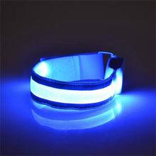 Браслет светодиодный руку со светодиодной подсветильник кой, Ремешок безопасности для ночного бега, велоспорта, браслет на запястье, брасл...