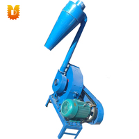 with motor UD9FQ 600 corn crusher straw hammer mill