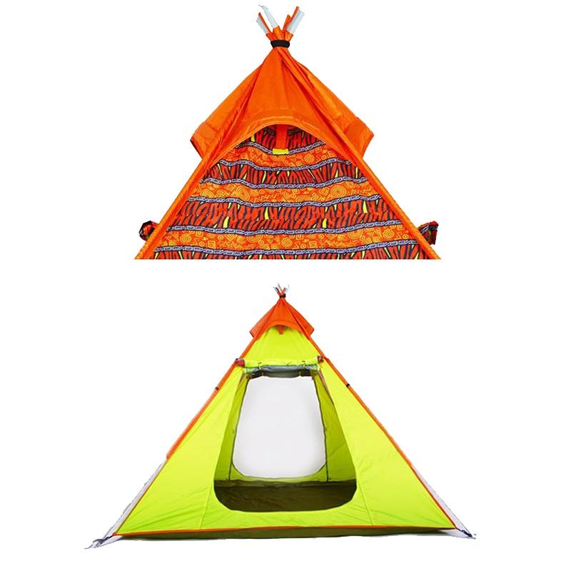 Большие Палатки Кемпинга 4 Человек Непромокаемые Открытый Семейный Палатка Для Путешествий Рыбная Ловля Пешие Прогулки Охота