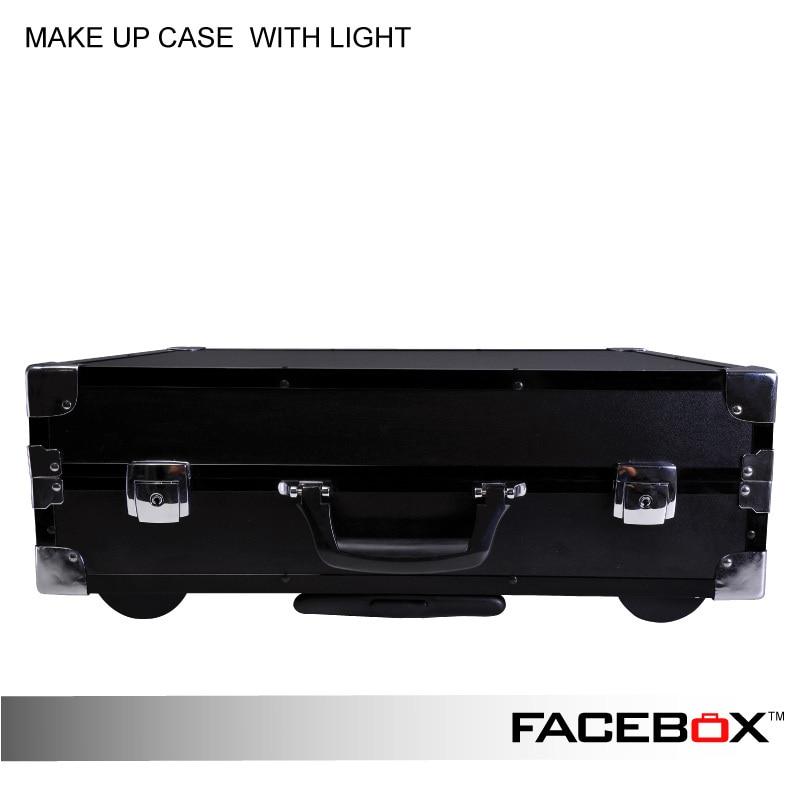 Facebox Professional Makeup Artist Lighting Makeup Case With ...