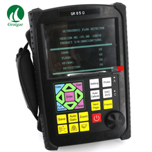 Портативный цифровой ультразвуковой дефектоскоп инструмент ndt GR650 диапазон измерения 0~ 10000 мм