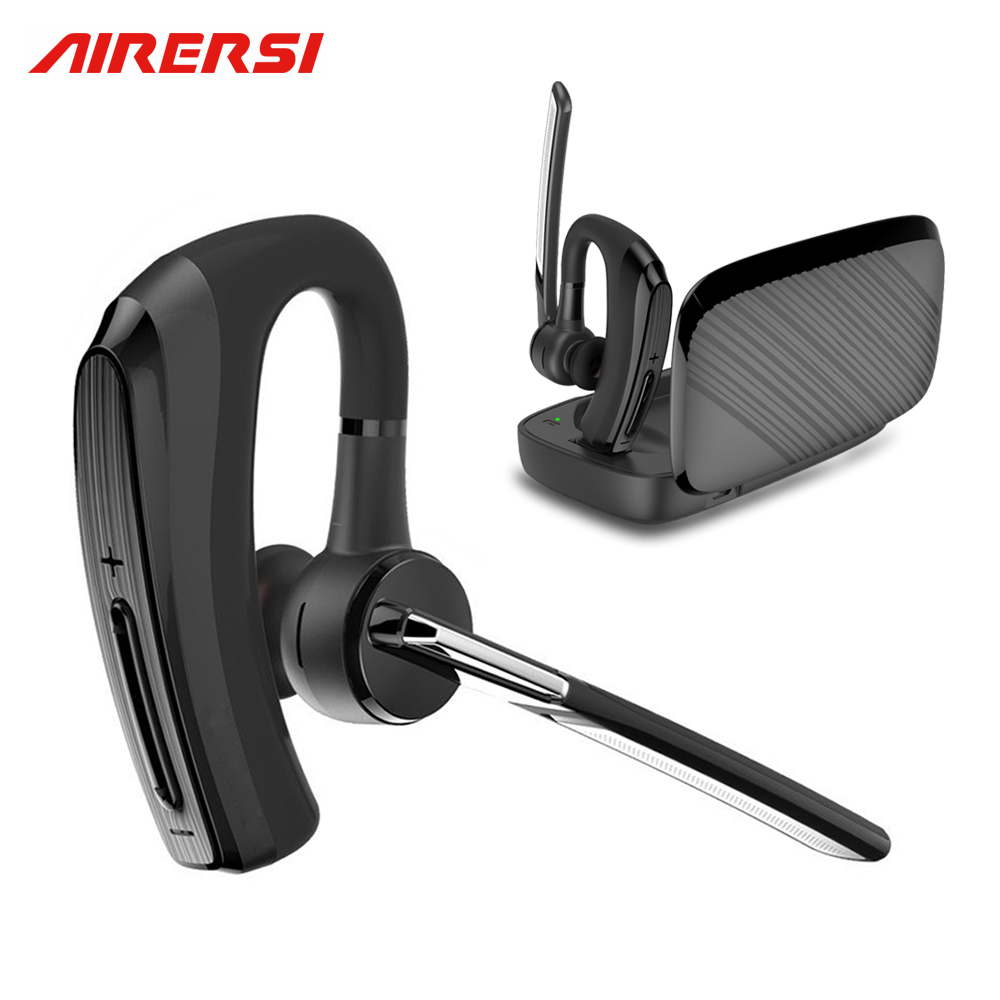New BH820 Bluetooth Earphone stereo Handsfree Wireless Headphones smart Car call Business Bluetooth Headset with Power Bank Box airersi k6 business bluetooth headset smart car call wireless earphone with microphone hands free and headphones storage box