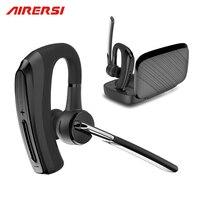 New BH820 Bluetooth Earphone Stereo Handsfree Wireless Headphones Smart Car Call Business Bluetooth Headset With Power