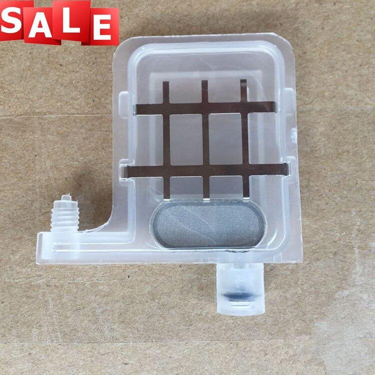10 pcs Eco solvent Resistant Clear Big Ink Damper Transparent Dumpers for Roland DX4 DX5 Printhead Printers(China)
