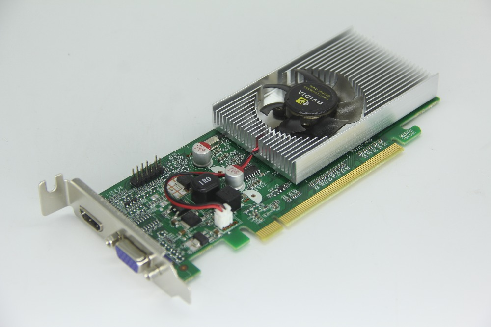 FREE SHIPPING nVIDIA GT610 1GB 64BIT DDR2 DUAL VGA HDMI PCIE Video Card