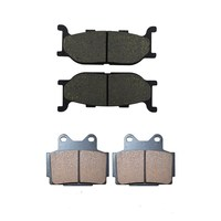 Motorcycle Front Rear Brake Pads For YAMAHA XJ 600 XJ600 S Diversion 1992 1997 Black Brake