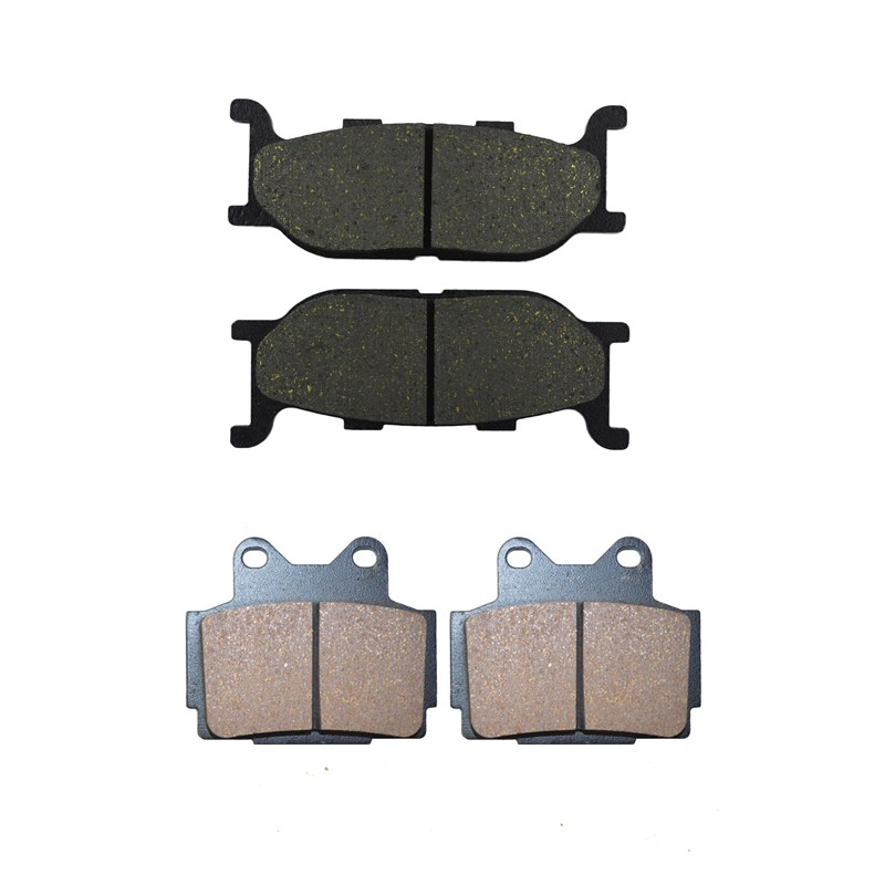 цена на Motorcycle Front & Rear Brake Pads For YAMAHA XJ 600 XJ600 S Diversion 1992-1997 Black Brake Disc Pad