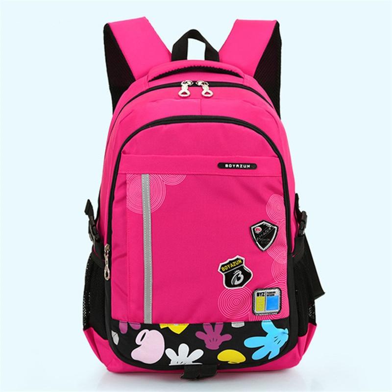 Милая девушка, рюкзаки Дети сумка детей школьные сумки для девочек Водонепроницаемый рюк ...