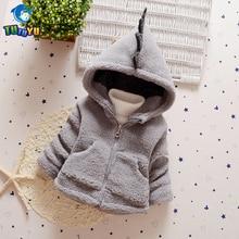 TUTUYU Baby Girls Children Boys Winter Jacket Fur Jacket Hooded Cotton Coat Girl Causal Down Coat Kids Clothing High Quality