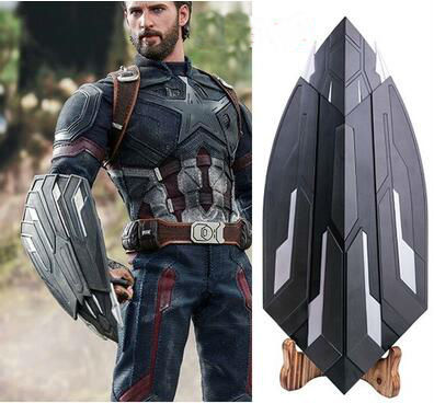 The Avengers 3 1:1 Life Size Captain America Vibranium Metal Claw SHIELD Movie Prop Replica Collection High Quality