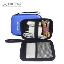 QICENT Disque Dur Cas, 2.5 «Sacoche Housse Sac pour Western Digital My Passport Studio DEO Portable 500 GB 1/2 TB-Bleu