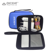 QICENT Hard Drive Case, 2.5″ Carrying Case Pouch Bag for Western Digital WD My Passport Studio WD Portable 500GB 1/2TB – Blue