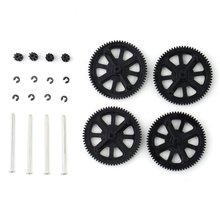 For Parrot AR Drone 2.0 Quadcopter Motor Pinion Gears Shafts Kit Replacement Set toy car Accessories